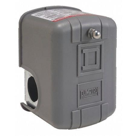 Pumptrol Pressure Switch, 1-Port 1/4FNPS, Diaphrgm SQUARE D ()
