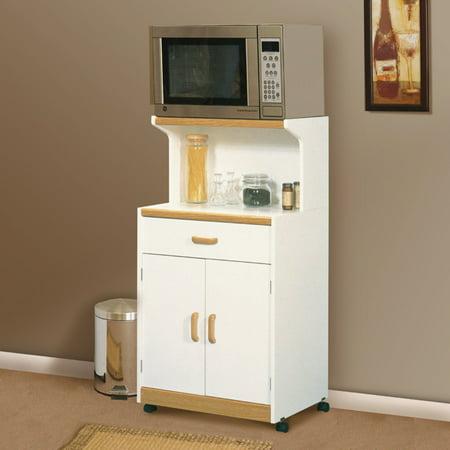 Sauder Select Universal Oven Cart, Soft White Finish