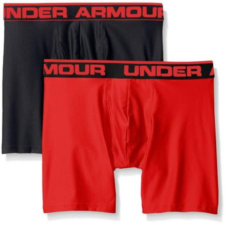 Under Armour Mens Boxer Short (Under Armour Men's Original Series 2-Pack Boxerjock Boxer Briefs 1282508)