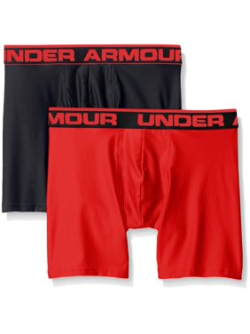 b7bc4f7ff304 Product Image Under Armour Men's Original Series 2-Pack Boxerjock Boxer  Briefs 1282508 BLK/RED