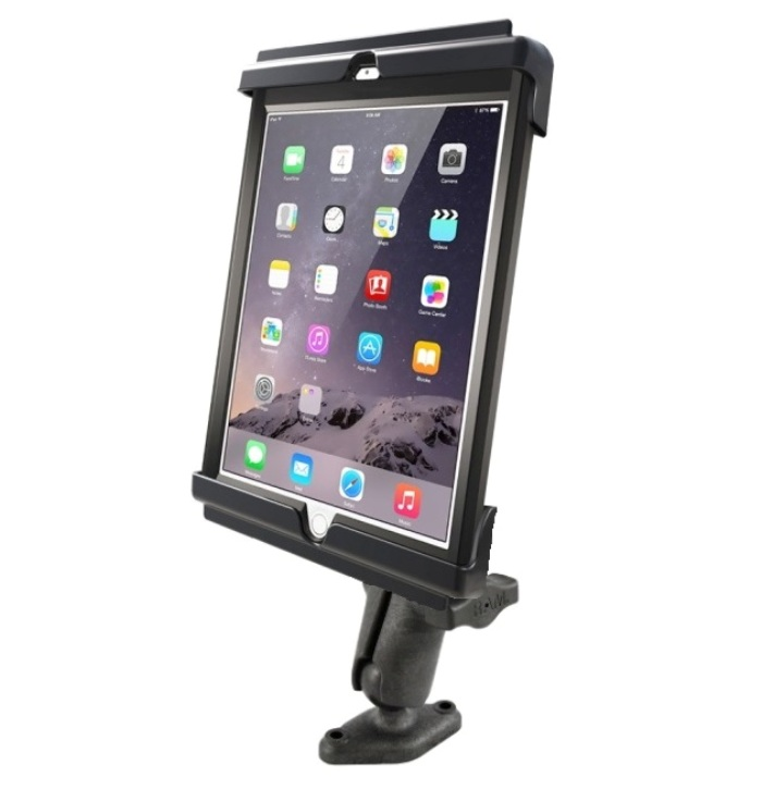 RAM Flat Surface Mount Holder Kit fits Apple iPad Air 1 &...