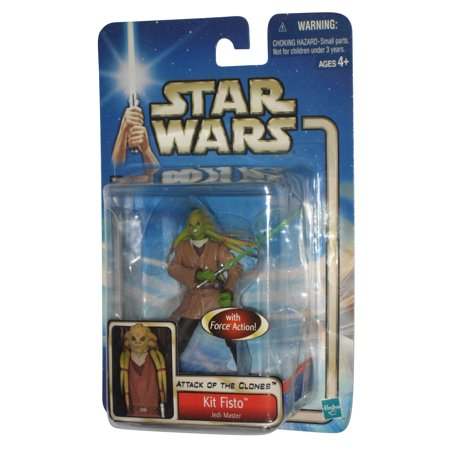 Star Wars Attack of The Clones Kit Fisto Hasbro Action Figure