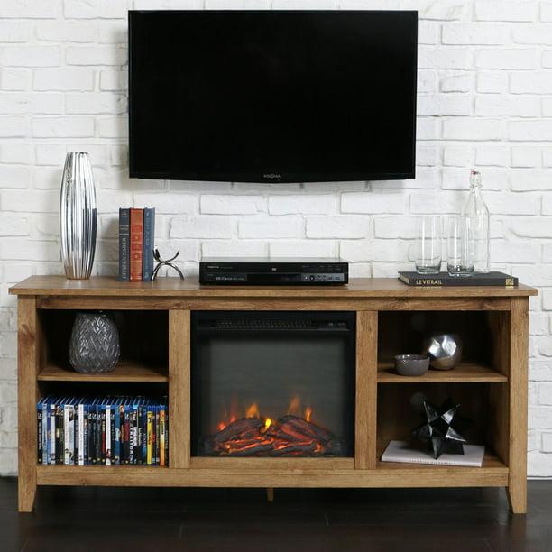 Belham Living Dawson 58 in. Fireplace TV Stand