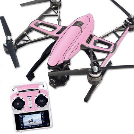 Skin Decal Wrap for Yuneec Q500 & Q500+ Quadcopter Drone Solid Pink