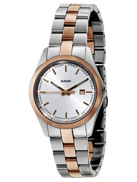 Rado HyperChrome Stainless Steel and Rose Gold Ceramos Womens Watch R32976102