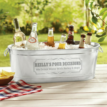 Personalized Create Your Own Beverage Tub