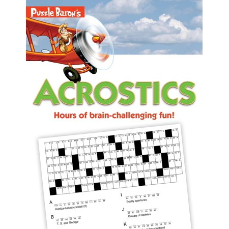 Puzzle Baron's Acrostics : Hours of Brain-Challenging Fun!](Halloween Word Puzzles Printable)