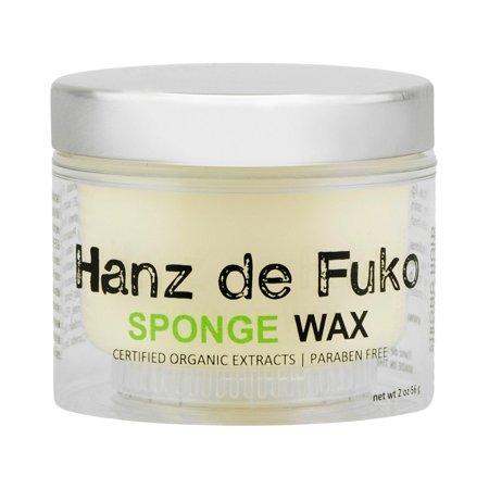 Hanz de Fuko Sponge Wax 2 Oz