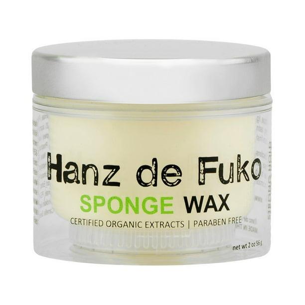 Hanz De Fuko Hanz De Fuko Sponge Wax 2 Oz Walmart Com Walmart Com