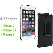 Cellet Rubberized FORCE Holster for Apple iPhone 8 / 7 / 6S / 6