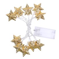 10LEDs Decorative Light String Fairy Lamp House Courtyard Christmas Festive Lights