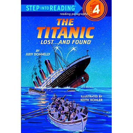 Library Book  The Titanic  Lost   And Found