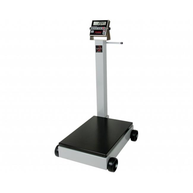 CardinalScales 5852F-190 Portable Digital Floor Scale, 500 lbs with 190 Indicator