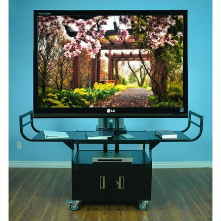 Flat Panel Monitor Lift Cabinet - VTI Large Flat Panel 80