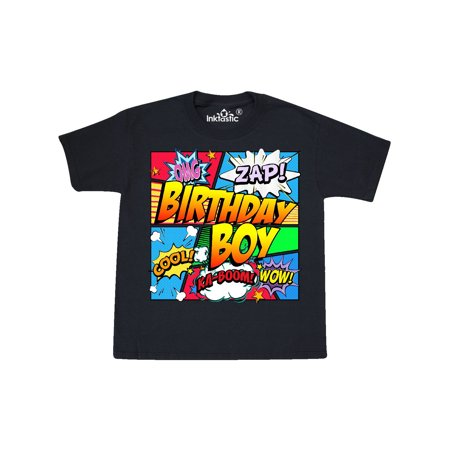 Birthday Boy Comic Book Youth T-Shirt