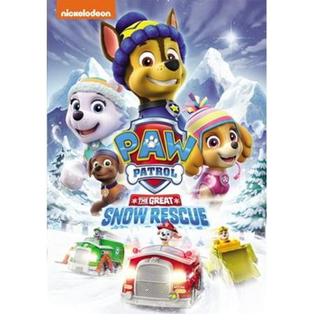 Paw Patrol: The Great Snow Rescue (DVD)](Paw Patrol Halloween Movie)