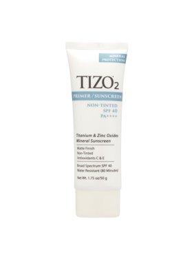TIZO 2 Primer / Sunscreen Non-tinted SPF 40 1.75 Oz