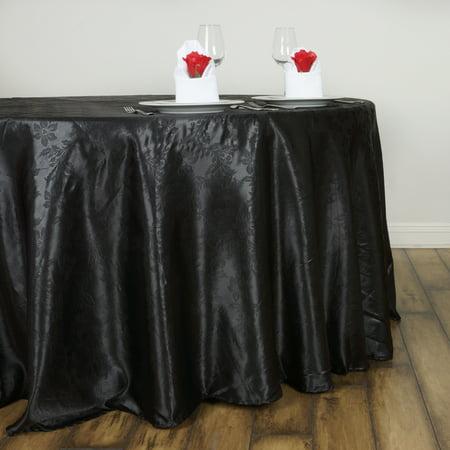 Black Linen Tablecloth (BalsaCircle 120
