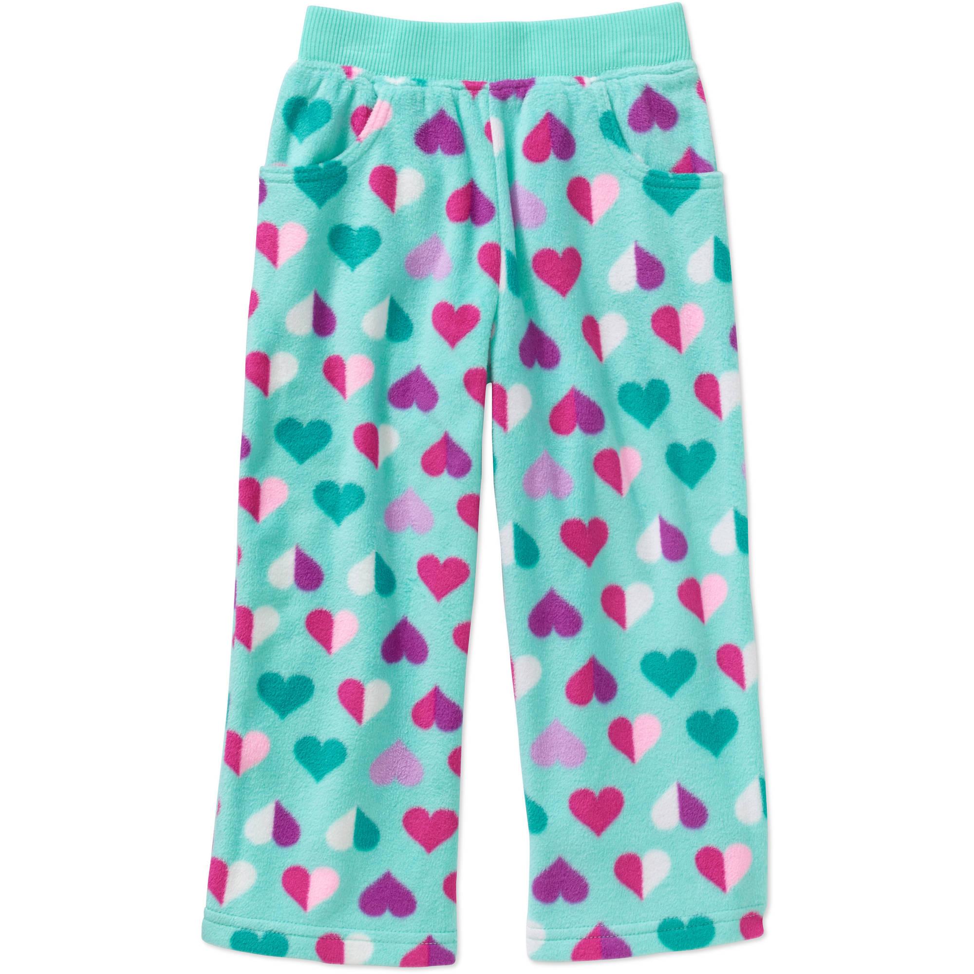 Garanimals Baby Toddler Girls' Micro Fleece Printed Pants