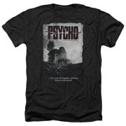 Psycho House Poster Mens Heather Shirt