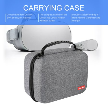 CNMODLE Portable Travel Carrying Handbag Cover Case for Oculus Go VR  Headset Remote Controller All Accessories Storage Case