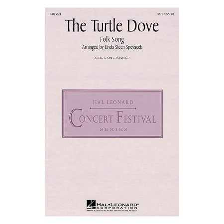 Hal Leonard The Turtle Dove 3-Part Mixed Arranged by Linda - Turtle Dove Meaning