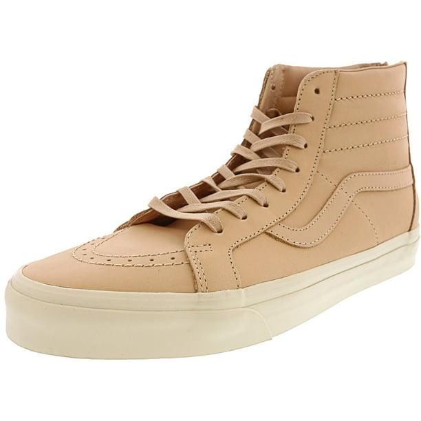 vans beige leather