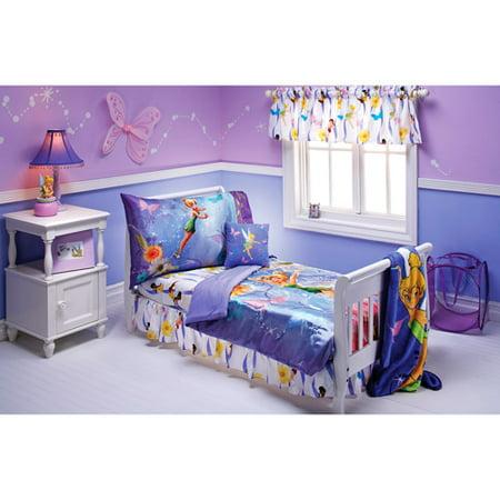 disney fairies tinker bell pixieland 10 piece toddler bedding set