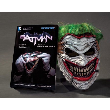 Batman: Batman, Volume 3: Death of the Family Book & Mask Set (Other) - Halloween 2017 Family Death