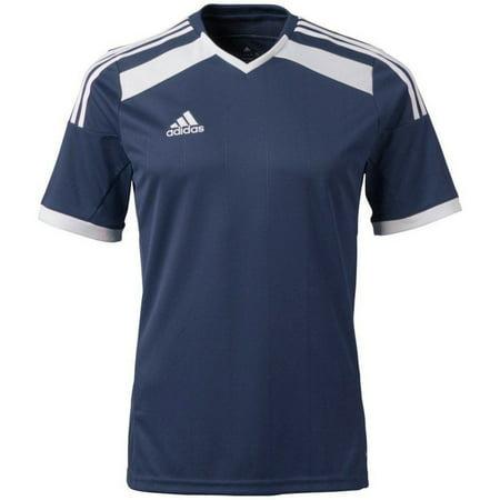 Adidas Youth ClimaCool Regista 14 Soccer Jersey Shirt SLIM LARGE Blue/White