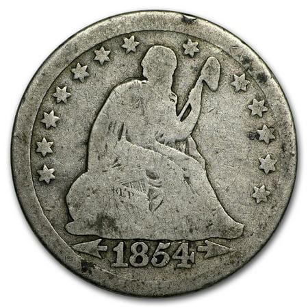 1838-1891 Liberty Seated Quarter Avg