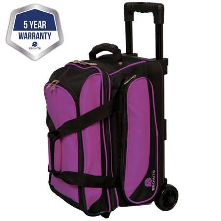 Roller Bar (Ebonite Transport II Double Roller Bowling Bag- Purple/Black (2017) )