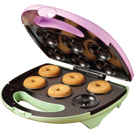 nostalgia electrics mdm 600 mini orbital donut maker. Black Bedroom Furniture Sets. Home Design Ideas