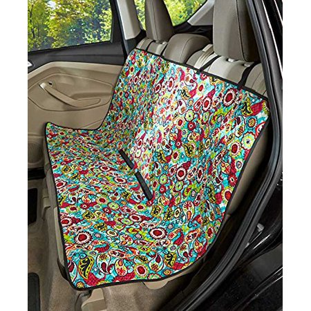 quilted car seat covers paisley. Black Bedroom Furniture Sets. Home Design Ideas