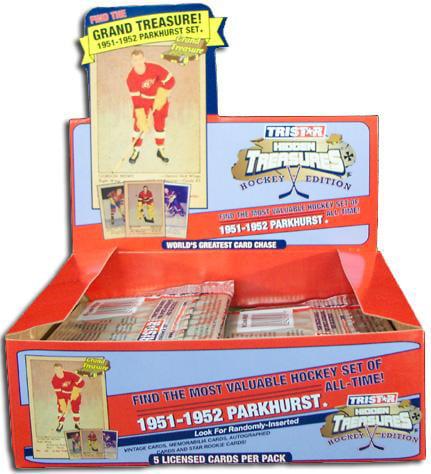 Tri-Star NHL 2006 Hidden Treasures Greatest Trading Cards (Set of 28)