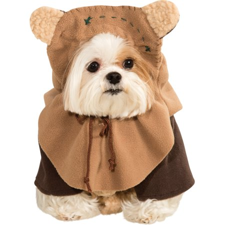 Ewok Star Wars Return of the Jedi Halloween Pet Puppy Dog Large Size Costume, Style RU887854LG