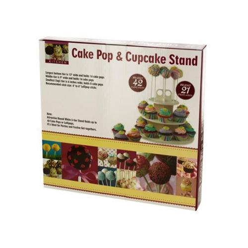 Bulk Buys OD988-1 Cake Pop & Cupcake Stand