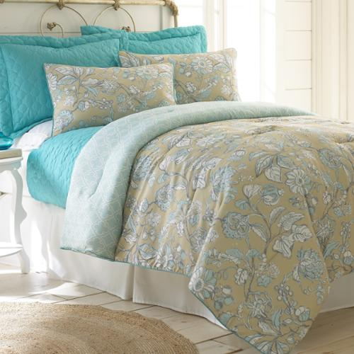 Eloise Reversible 6-piece Comforter and Coverlet Set Queen