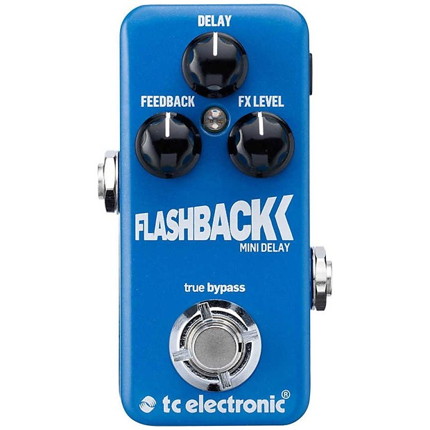TC Electronic Flashback Mini Delay Guitar Pedal Toneprint True Bypass by TC Electronic