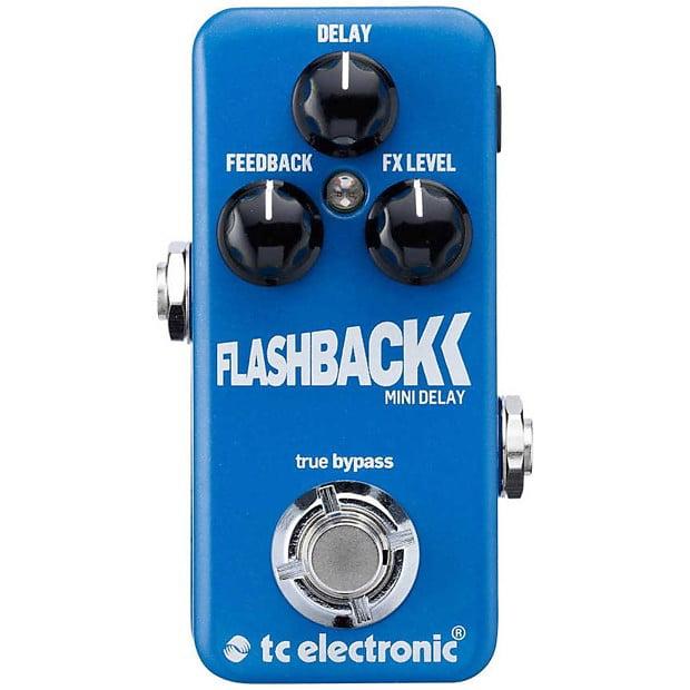TC Electronic Flashback Mini Delay Guitar Pedal Toneprint True Bypass by TC Electronic