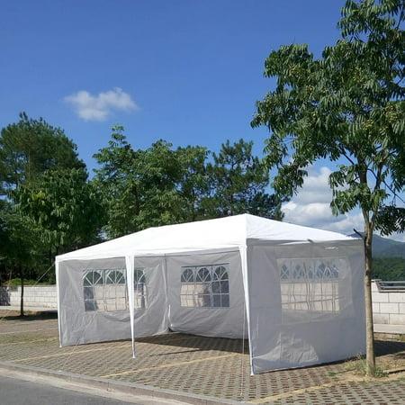 Ktaxon 10' x 20' Party Tent Outdoor Heavy Duty Gazebo Wedding Canopy w/4 Side Walls