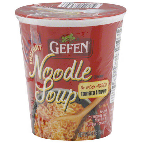 ***Discontinue***Gefen Tomato Flavor Instant Noodle Soup, 2.3 oz, (Pack of 12)