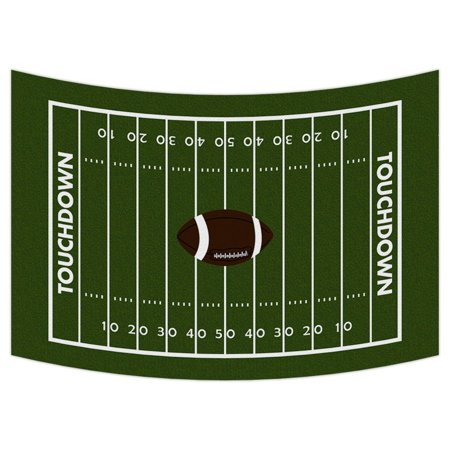 GCKG Football Ground Tapestry,Football Ground Wall Hanging Wall Decor Art for Living Room Bedroom Dorm Cotton Linen Decoration Size 51x60 inches - image 2 of 2