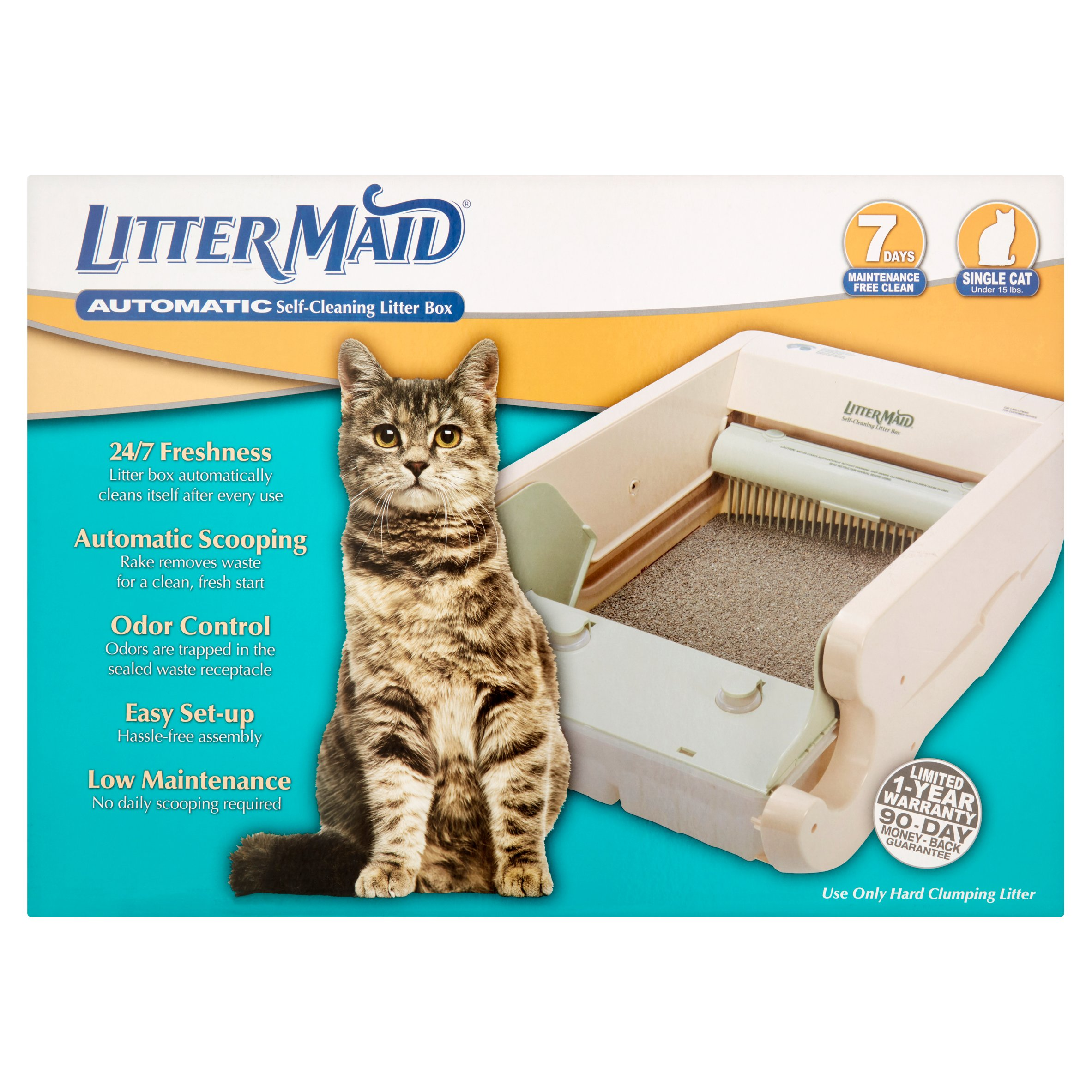 Littermaid Classic Self Cleaning Cat Litter Box Lm580 Walmart Com