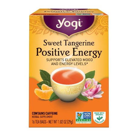 Yogi Tea Sweet Tangerine Positive Energy Tea Tea Bags