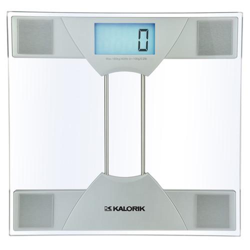 kalorik electronic bathroom scale - walmart