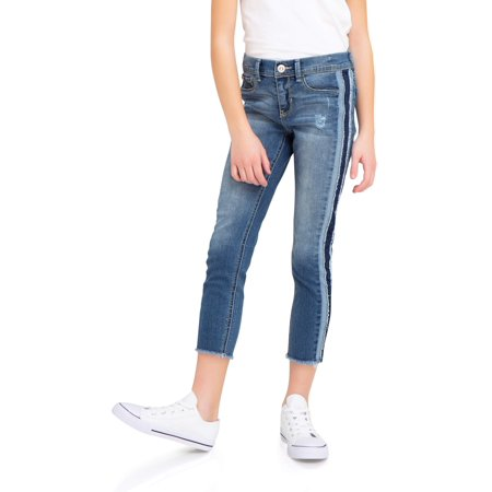 Jordache Distressed Super Skinny Ankle Jean (Little Girls & Big Girls) (Big Star Jeans Clearance)