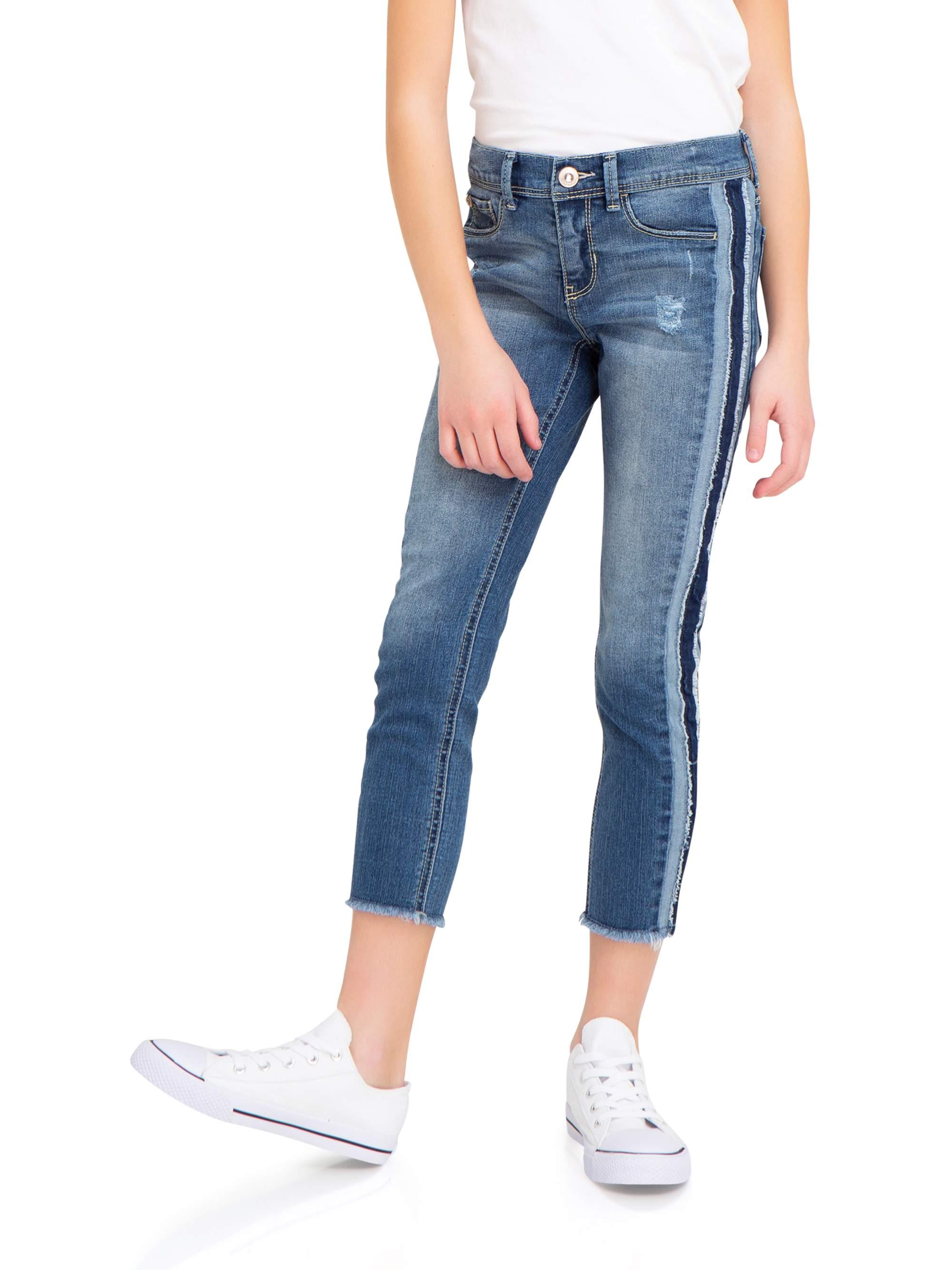 Distressed Super Skinny Ankle Jean (Little Girls & Big Girls)