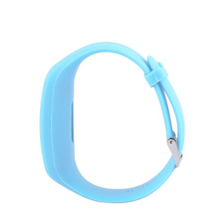 Pedometer Sports Monitor Running Exercising Step Counter Silicone Wristband - image 7 of 9