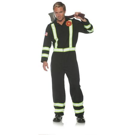 Frontline Fireman Adult Costume ()
